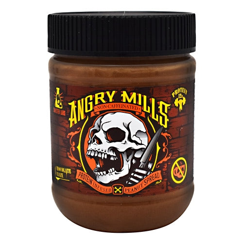 Sinister Labs Angry Mills Peanut Spread - Chocolate Craze - 12 oz - 853698007192