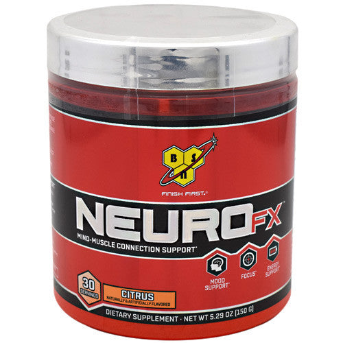 BSN Neuro FX - Citrus - 30 Servings - 834266001415