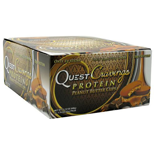 Quest Nutrition Quest Cravings - Peanut Butter Cups - 12 ea - 793573169778