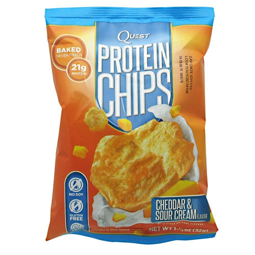 Quest Nutrition Protein Chips - Cheddar & Sour Cream - 16 ea - 10888849000309