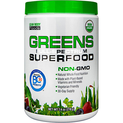 Labrada Nutrition Greens Superfood - Unflavored - 7.4 oz - 710779100114