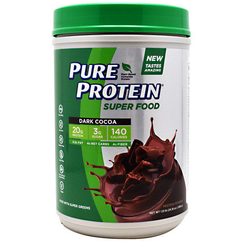 Pure Protein Super Food - Dark Cocoa - 1.51 lb - 749826715346
