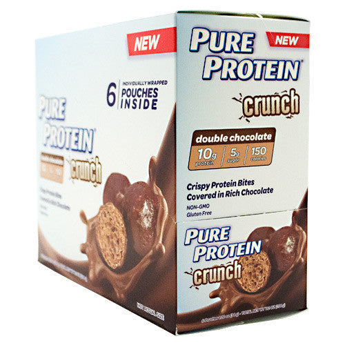 Pure Protein Pure Protein Crunch Bites - Double Chocolate - 6 ea - 749826649672