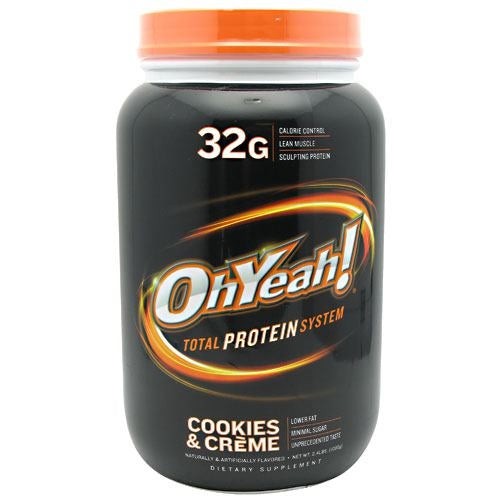 ISS OhYeah! Protein Powder - Cookies and Creme - 2.4 lb - 788434111294