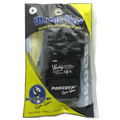 Progryp Wrap-Ups Weightlifting Gloves - Small - 1 Pair - 197409238872