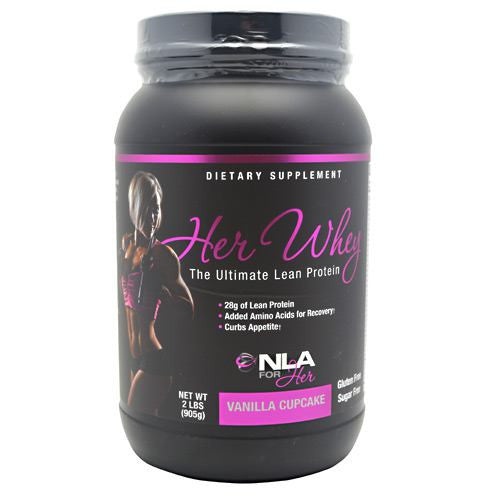 NLA For Her Her Whey - Vanilla Cupcake - 2 lb - 700254853253