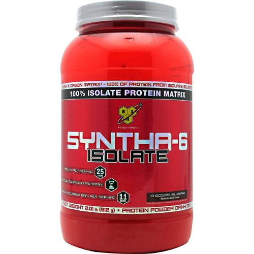 BSN Isolate Syntha-6 - Chocolate Milkshake - 2 lb - 834266066209