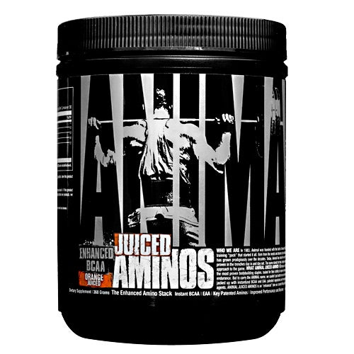 Universal Nutrition Animal Juiced Aminos - Orange Juice - 30 Servings - 039442030665