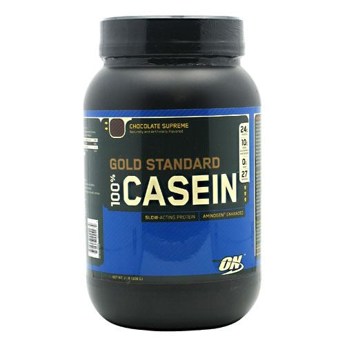 Optimum Nutrition Gold Standard 100% Casein - Chocolate Supreme - 2 lb - 748927024234