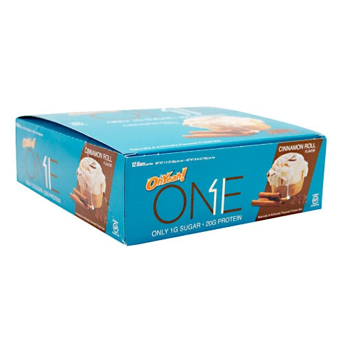 ISS OhYeah! One Bar - Cinnamon Roll - 12 Bars - 788434107518