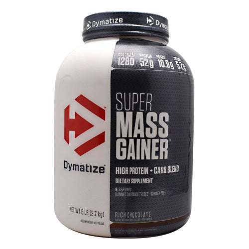 Dymatize Super Mass Gainer - Rich Chocolate - 6 lb - 705016331277