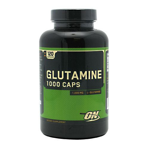 Optimum Nutrition Glutamine 1000 Caps - 120 Capsules - 748927022834