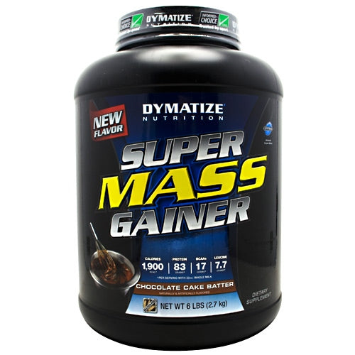 Dymatize Super Mass Gainer - Chocolate Cake Batter - 6 lb - 705016331314