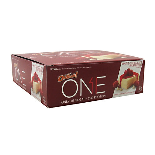 ISS OhYeah! One Bar - White Chocolate Raspberry - 12 Bars - 788434108126
