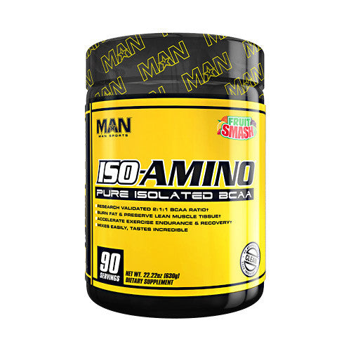MAN Sports Iso-Amino - Fruit Smash - 90 Servings - 853360006140