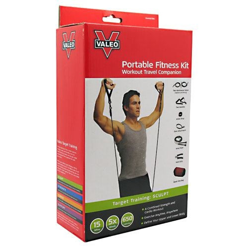 Valeo Portable Fitness Kit - Valeo Portable Fitness Kit - 736097006181