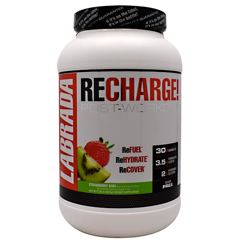 Labrada Nutrition ReCharge! - Strawberry Kiwi - 25 Servings - 710779560468
