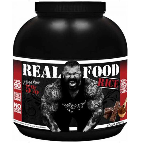 Rich Piana 5% Nutrition Real Food Rice Cocoa Heaven 60 Servings