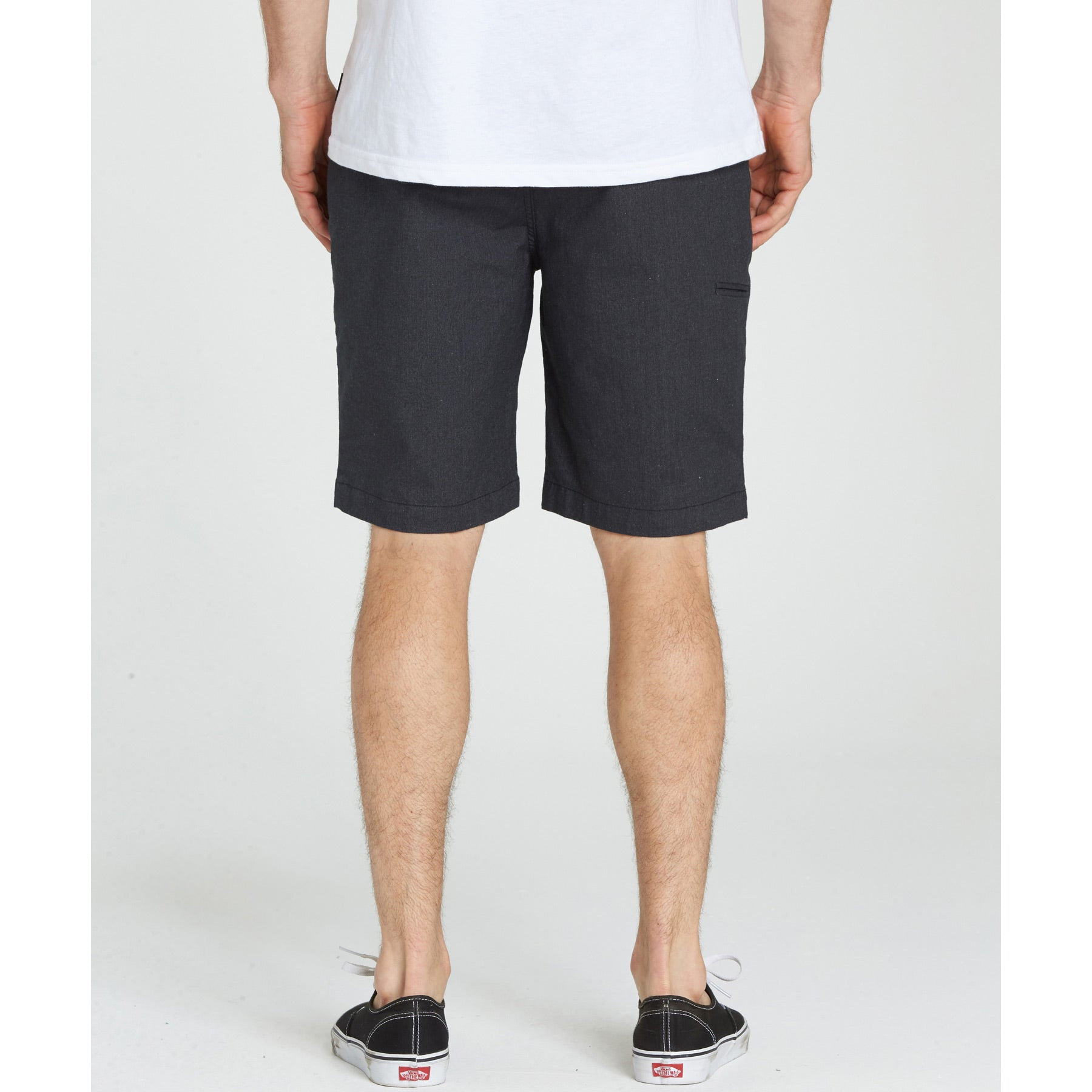 Carter Stretch Shorts - Charcoal