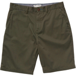 Carter Stretch Shorts - Military Green