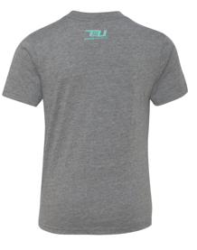 19 Youth Light Grey Tee