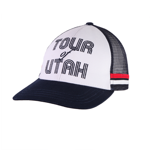 Retro Cap Navy - Curved