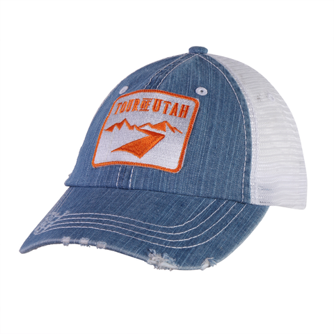 Denim Patch Hat