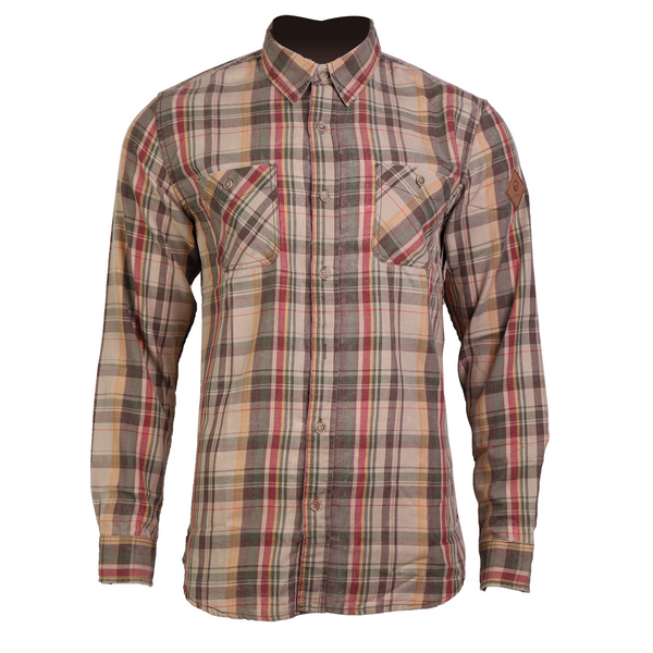Men's Long Sleeve Plaid Shirt