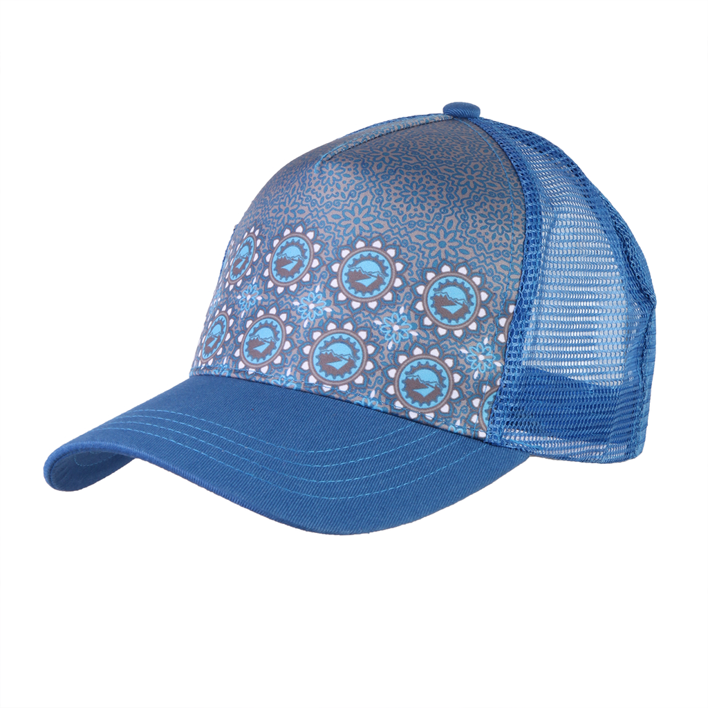 Ladies Kaleidoscope Trucker Hat