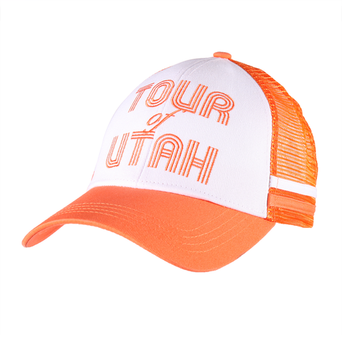 Retro Orange Cap