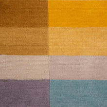Bauhaus Yellow Hand Knotted Pile Rug Detail by Ptolemy Mann