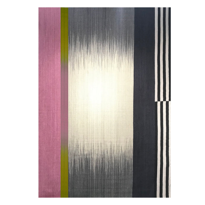 Bespoke LA Pink Gelim – 3 x 4m - Flatweave Rug - Available for immediate shipping