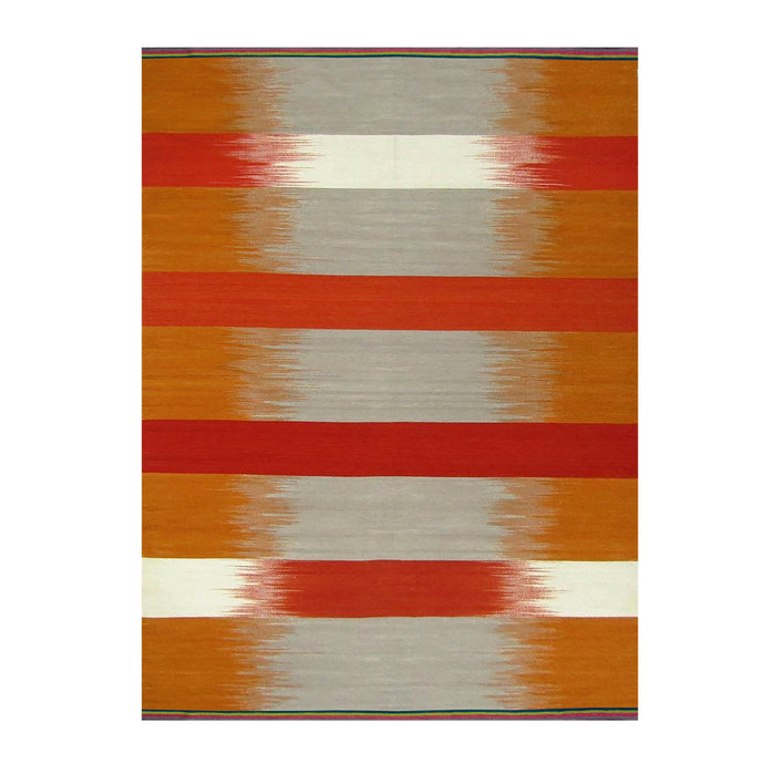 Orange Spectrum Gelim – Flatweave Rug
