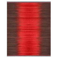Red Charcoal Gelim – Flatweave Rug