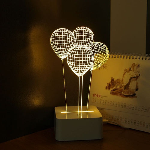 You Light Up My Life Dimmable LED Balloon Night Light