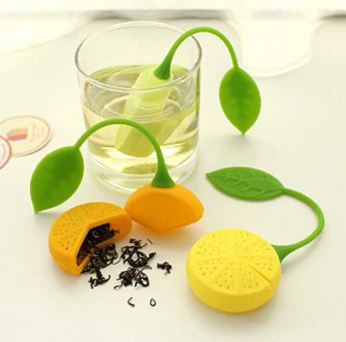Infused with Charm Lemon Shaped Tea Infuser