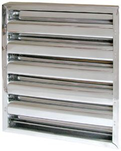 "10"" tall x 16"" Kleen-Gard® Stainless Steel Baffle Grease Filters - addinstock"