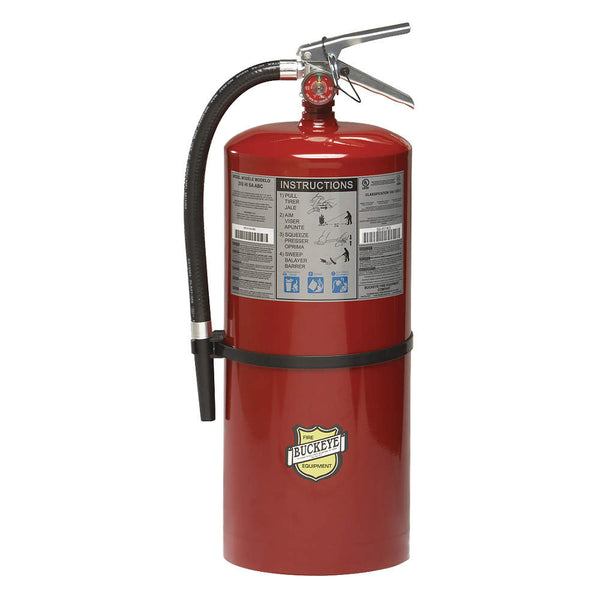 Dry Chemical Fire Extinguisher with 20 lb. Capacity and 26 to 29 sec. Discharge Time - addinstock