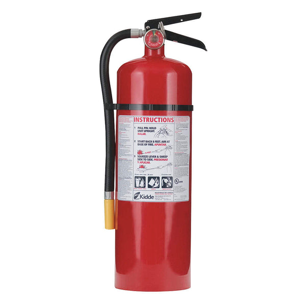 Dry Chemical Fire Extinguisher with 10 lb. Capacity and 19 to 21 sec. Discharge Time - addinstock