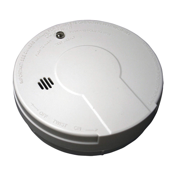 "5"" Smoke Alarm with 85dB @ 10 ft., Horn Audible Alert; 9V - addinstock"