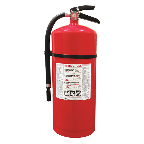 Dry Chemical Fire Extinguisher with 20 lb. Capacity and 19 to 22 sec. Discharge Time - addinstock