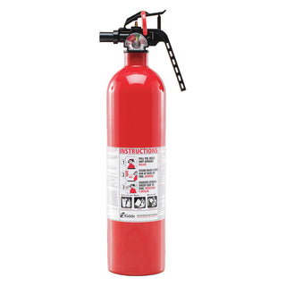 Dry Chemical Fire Extinguisher with 2.5 lb. Capacity and 8 to 12 sec. Discharge Time - addinstock