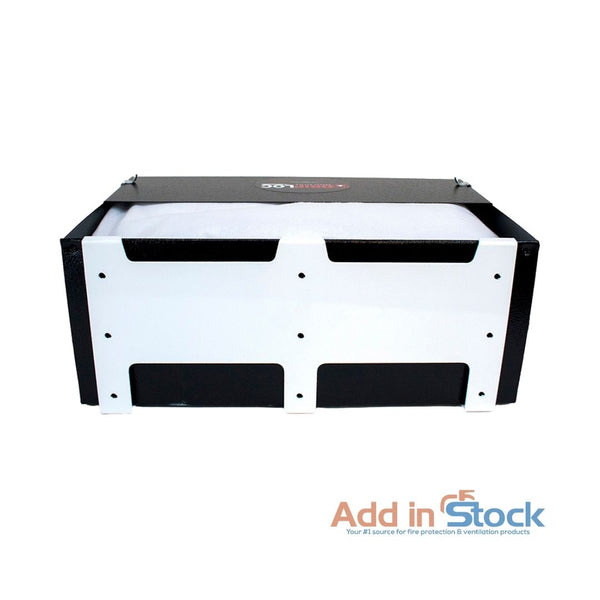 7 inch rack grease containment system back side