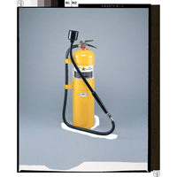 Dry Chemical Fire Extinguisher with 30 lb. Capacity and 24 sec. Discharge Time - addinstock