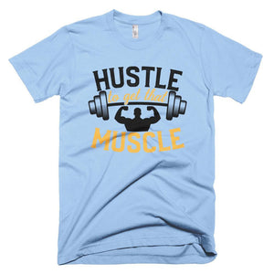 Fitplicity  Baby Blue / XS Hustle Short-Sleeve T-Shirt