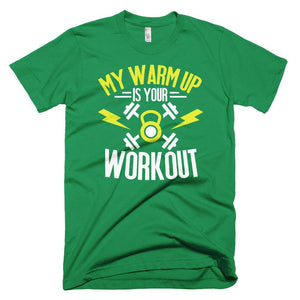 Fitplicity  Kelly Green / XS My Warmup Short-Sleeve T-Shirt