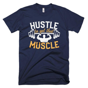Fitplicity  Navy / XS Hustle Short-Sleeve T-Shirt