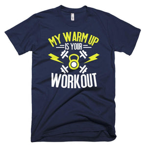Fitplicity  Navy / XS My Warmup Short-Sleeve T-Shirt