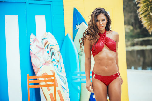 HOLLYWOOD RED BIKINI REF 14694