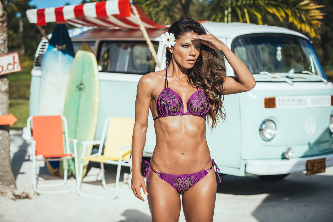 MALIBU LOVE PURPLE BIKINI REF 14674